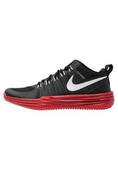 LUNAR TRAINER 1 - Scarpe da fitness - black white university red e67a3015bf1