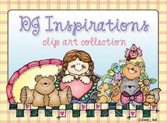 This warm, friendly NEW clip art collection will be an 'Inspiration' to your creations. Perfect for making thoughtful cards, family scrapbooks, inspirational handouts, friendly notes, homemade gifts & more. ALSO when you buy the complete collection (8 full downloads), you save 30%!