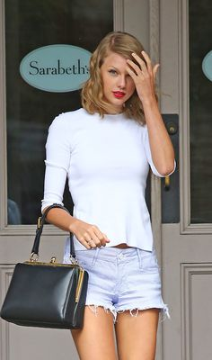 Taylor out and about in NYC July 14, 2014