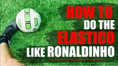 Can you do this soccer skill? In this video I'll show you how to do the elastico like Ronaldinho. 3 Different variations of elastico most. Soccer Dribbling Drills, Soccer Training Drills, Soccer Drills For Kids, Soccer Skills, Soccer Coaching, Soccer Tips, Sports Website, Let Them Talk, Soccer Ball