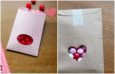 you are my fave: diy valentine treat bags