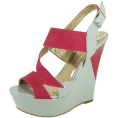 "**Coupon Code!** Only $36.60, PLUS get 10% off your entire order & FREE shipping with discount code ""SAVE10"" at checkout! #shoes #wedges"