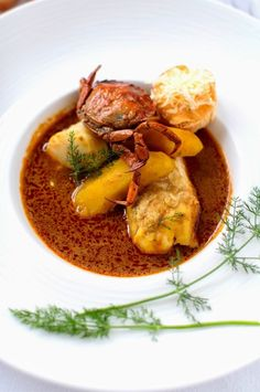 Classic French Dishes, French Food, La Bouillabaisse, Halibut, Mussels, Oysters, Thai Red Curry, Stew, Entrees