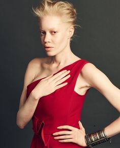 American Top Model, African American Models, Albino African, Albino Model, Fashion Models, High Fashion, Beauty Awards, Art Poses, Pinterest Fashion