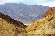 Title  Hiking Golden Canyon   Artist  Stuart Litoff   Medium  Photograph - Photograph