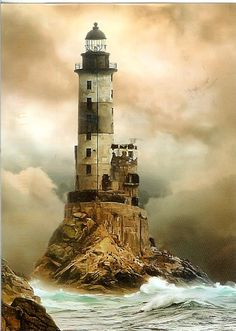 Aniva Lighthouse, Sakhalin, Russia (Eastern Europe) ...This light marks the very sharp cape at the southeastern corner of Sakhalin, on the north side of the eastern entrance to La Pérouse Strait. The lighthouse incorporates 7 floors of crew quarters; its construction at this isolated and dangerous spot was a significant accomplishment of Japanese engineering....HOME SWEET WORLD