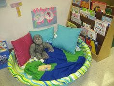 Toddler Cozy reading spot - Raleigh Court Presbyterian Preschool