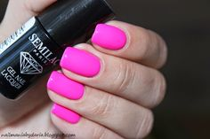 Semilac, 008 Intensive Pink