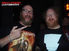 That moment when Brian Posehn meets his doppelgänger at Laugh Boston... How often does this happen to you?
