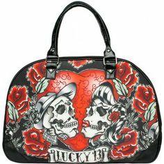 http://purpleleopardboutique.com/1713-4410-thickbox/lucky-13-los-amantes-travel-bag-.jpg