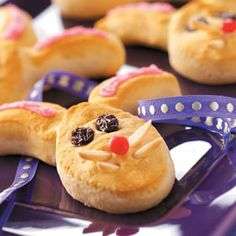 Bunny Biscuits Recipe from Taste of Home -- shared by Flo Burtnett of Gage, Oklahoma