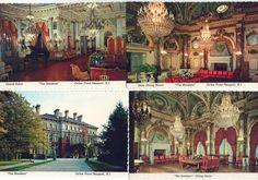 Set of 4 unused postcards of The Breakers Newport Rhode