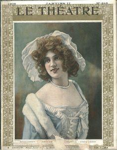 218 (I-1908). Arlette Dorgère (Le Théâtre; 218) by Performing Arts / Artes Escénicas, via Flickr