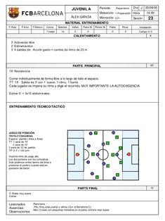 Sesiones f.c. barcelona juvenil 2