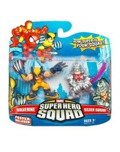 Marvel Superhero Squad Series 15 Mini 3 Inch Figure Wolverine and Samurai Dope Cartoons, Dope Cartoon Art, Marvel Room, Marvel Comics, Xman Marvel, Silver Samurai, Superhero Series, Hulk, Lego Marvel Super Heroes