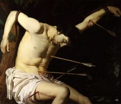 St. Sebastian. 1623. Gerard Van Honthorst. Dutch. 1590-1656.  oil on canvas.