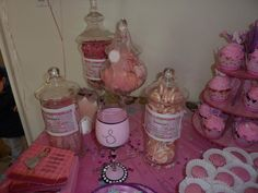 candy buffet created by me with some ideas here and there