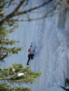 Ouray is ranked as one of the most popular locations in the world for ice climbing.