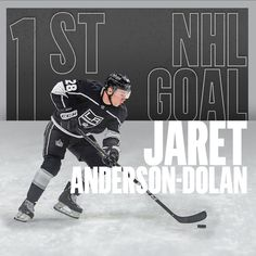 "LA Kings on Instagram: ""First @nhl goal for @jaretandersondolan 👏 👏"""