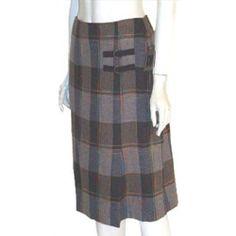 DJ & Co. Plaid Skirt Career Secretary NWT Size 4