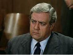 Raymond Burr as Robert T. Ironside - Sitcoms Online Photo Galleries