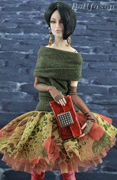 Prego: Dollfason. My fashion for dolls - Ava, Numina.