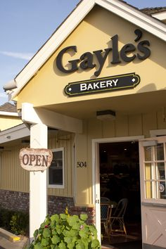 Gayle's Bakery in Capitola, CA  steps away from the Many Hands Gallery
