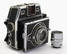 Bertram camera #2009 (6x6 &6x9) + Xenar 3.5/105 & 5.5/180 :: Cameramate Shop Vintage
