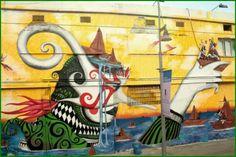 Street art | Mural by Skount