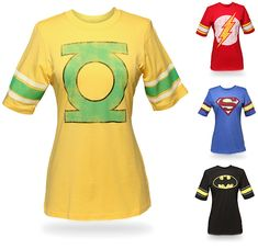 """Superhero T-Shirts for Women -- bought it -- love it.  (More importantly, my son loves it and I'm a """"cool mom"""")"""