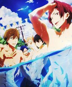 Free! ES {aka Eternal summer } ~~ Official promo artwork
