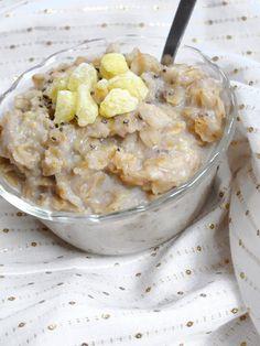 The Oatmeal Artist: Overnight Lemon Drop Oatmeal