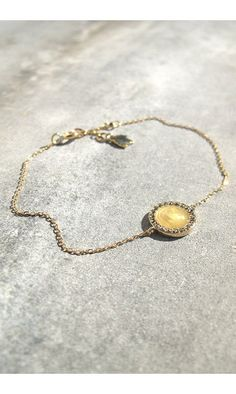 Feidt bracelet Madone or jaune/marcassite #feidt #feidtparis #feidtbijoux #madone #madonna #bracelet #armband #marcassite #jewelry #jewellery #bijoux #9k #gold