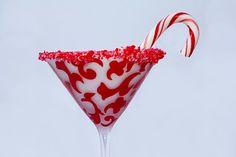 Christmas Candy Cane-tini