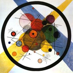 lonequixote:    Circles in a Circle by Wassily Kandinsky  (via @lonequixote)