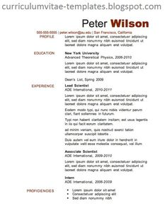 Resume Writing Template 3 Tips From The Best Resume Samples Available  Interview & Resume