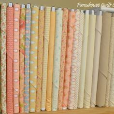 More possible fabric choices for the girls' room decor.