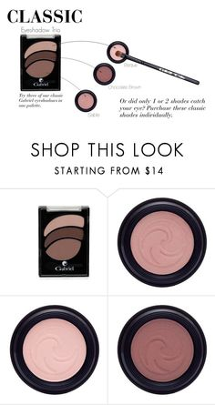CLASSIC Eyeshadow Trio by jeanamelia on Polyvore featuring beauty