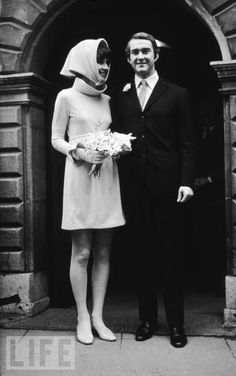 "Audrey Hepburn, who married Italian psychiatrist Andrea Dotti, nine years her junior, in 1969. Hepburn said she would leave her acting career to become an ""Italian housewife."""
