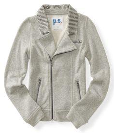 Kids' Jeweled Fleece Jacket - PS From Aeropostale