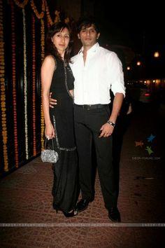 karan-vir-bohra-and-teejay-bohra-graces-ekta-kapoor-diwali-bash Diwali Fashion, Stars, Tv, Couples, Celebrities, Pants, Trouser Pants, Celebs, Women's Pants
