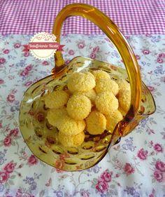 Biscotti polentini al mandarino e cocco
