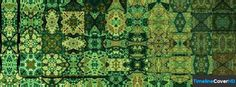 Green Pattern 2 Facebook Cover Timeline Banner For Fb Facebook Cover