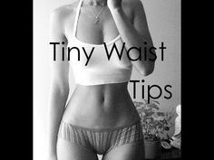 How To Get a Tiny Waist FAST | See Results In A WEEK! - YouTube