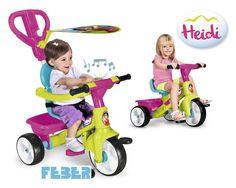TRICICLO INFANTIL HEIDI. FEBER 12542, IndalChess.com Tienda de juguetes online y juegos de jardin