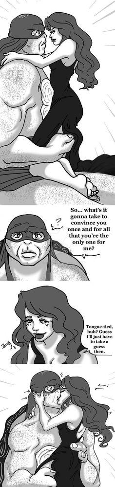 Raphril - Love - Page 8 by on DeviantArt Ninja Turtles Cartoon, Ninja Turtles Art, Teenage Mutant Ninja Turtles, Dipper And Pacifica, Tmnt Swag, Tmnt Leo, Tmnt Girls, Tmnt Comics, Character Description