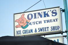 Awesome ice cream place in New Buffalo, Michigan!!!!