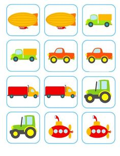 In this page, memory game that can be used in the theme of preschool vehicles . Transportation Activities, Autism Activities, Montessori Activities, Learning Activities, Preschool Activities, Kids Learning, Kids Zoo, Shapes For Kids, Grande Section