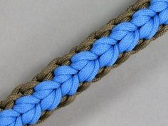 How to make a Geyser Falls Paracord Sinnet (Paracord 101)