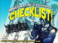 Miniaturas do Lopes!: Checklist - Miniaturas DC - Edições Especiais